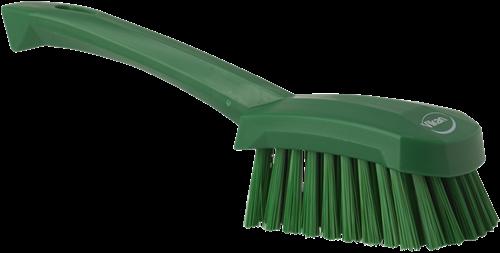 Vikan Afwasborstel, Korte steel, Medium, Groen