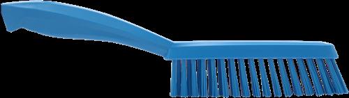 Vikan Smalle Borstel, 300mm, Hard, Blauw