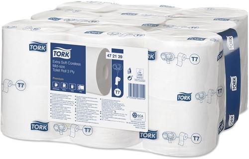 Tork Extra Soft Coreless Mid-size T7 Toiletpapier (472139)