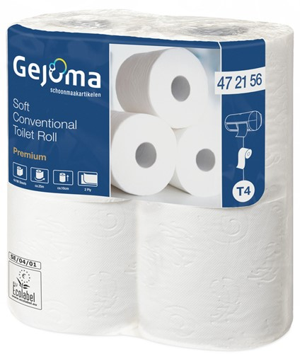 Gejoma Basic Toiletpapier Soft 2lgs 40x396 vel (472156)
