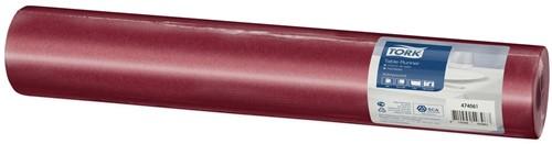 Tork Textile Feel Tafelloper, 1-laags, BordeauxRood