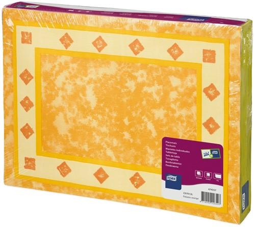 Tork Placemat 31x42cm, Palazzo Orange