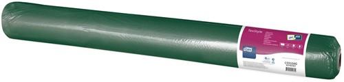 Tork Textile Feel Tafelrol 1,2x50m 1-laags, DonkerGroen