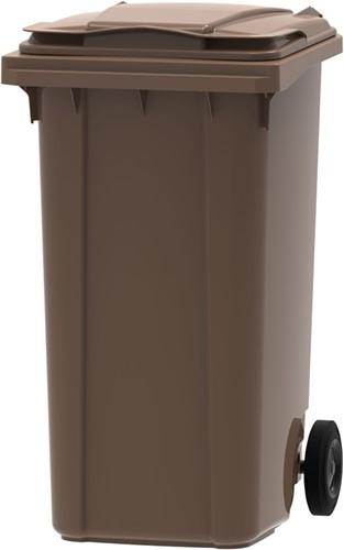 Mini-container, 240L, Bruin