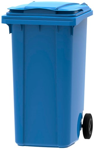 Mini-container, 240L, Blauw
