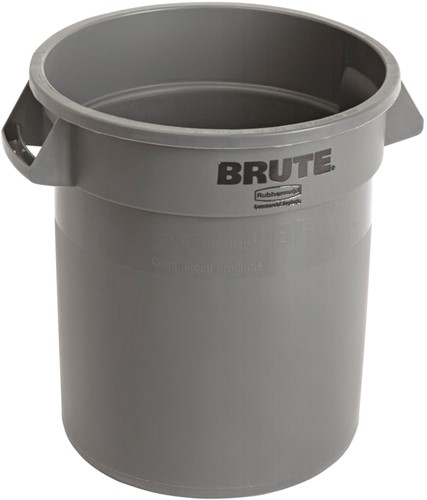 Rubbermaid Ronde Brute Container, 37,9L, Grijs