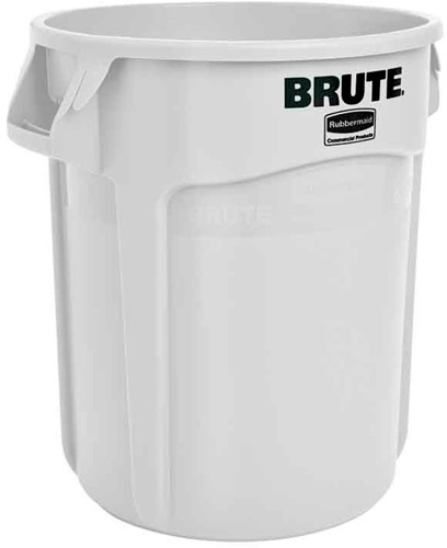 Rubbermaid Ronde Brute Container, 75,7L, Wit
