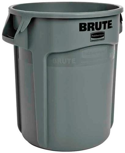 Rubbermaid Ronde Brute Container, 75,7L, Grijs