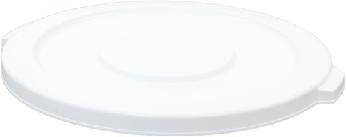 Rubbermaid Ronde Brute Container Deksel, 121,1 L, Wit