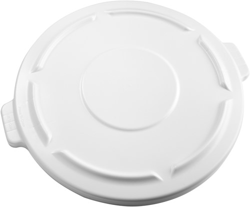 Rubbermaid Ronde Brute Container, Deksel, 166,5L, Wit