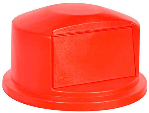 Rubbermaid Brute Dome Deksel, Rood, 166,5 L