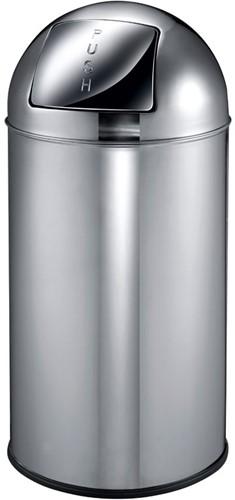 EKO Pushcan, 40 L, Chrome