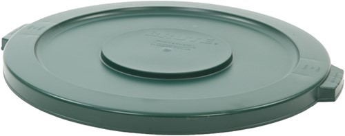 Rubbermaid Ronde Brute Container Deksel, 121,1 L, Groen