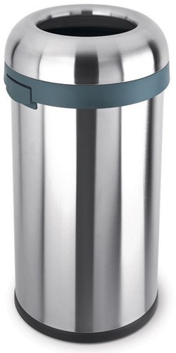 Simplehuman Kogelvormige Open Afvalbak, 60 L