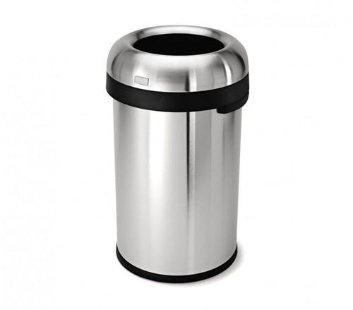 Simplehuman Kogelvormige Open Afvalbak, 80 L