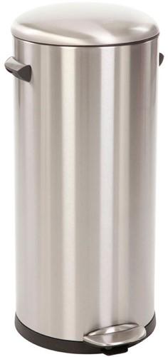 EKO Belle Deluxe Pedaalemmer, 30 L, Mat RVS