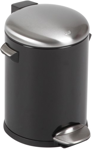 EKO Belle Deluxe Pedaalemmer, 5 L, Zwart