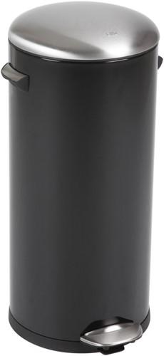EKO Belle Deluxe Pedaalemmer, 30 L, Zwart