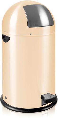 EKO Kickcan Pedaalemmer 33 L, Crème