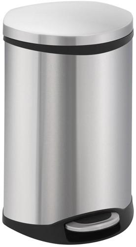 EKO Shell Bin Pedaalemmer, Mat RVS, 18 L