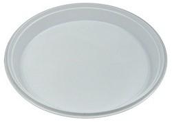 Plastic Dinerbord 1-Vaks  Wit 22cm