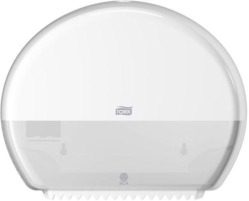 Tork Mini Jumbo Toiletpapier Dispenser, Wit