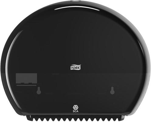 Tork Mini Jumbo Toiletpapier Dispenser, Zwart