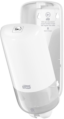 Tork Liquid & Spray Soap Dispenser, Wit-2
