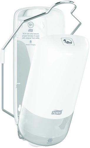 Tork Liquid Soap Dispenser met Elleboogbediening, Wit - 4