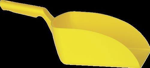 Vikan Rechte Handschep, 2 L, 160x370x130 mm, Geel