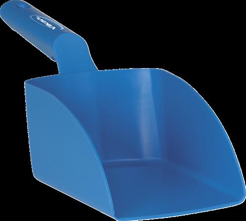 Vikan Rechte Handschep, 1 L, 120x330x110 mm, Blauw