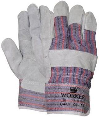 Handschoen Amerikaantje Splitleder