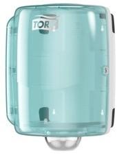 Tork Maxi Centerfeed Dispenser Torquoise/Wit