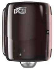 Tork Maxi Centerfeed Dispenser Zwart/Rood