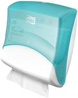 Tork Gevouwen reinigingsdoeken Dispenser, Turqoise/Wit-2