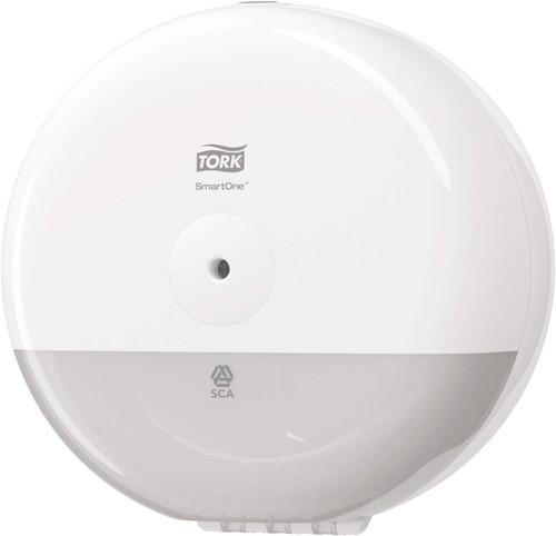 Tork SmartOne Mini Toiletrol Dispenser, Wit