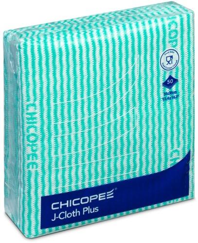 Chicopee 74772 J-Cloth Plus Medium, 34x36 cm, Groen