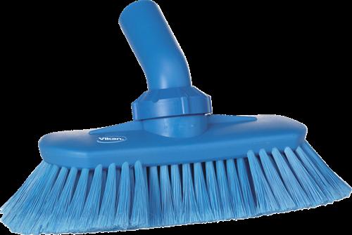 Vikan Watervoerende Wasborstel, 240 mm Blauw