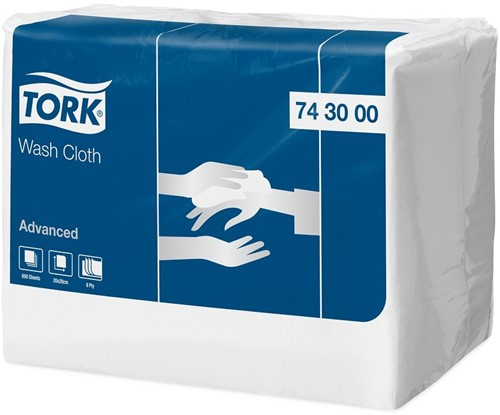 Tork Wash Cloth (743000), 2 x 650 stuks