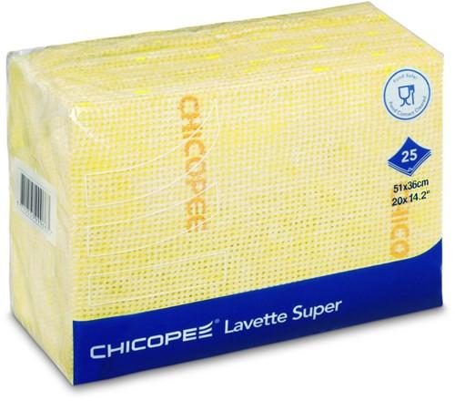 Chicopee 74467 Lavette Super, 51x36 cm, Geel