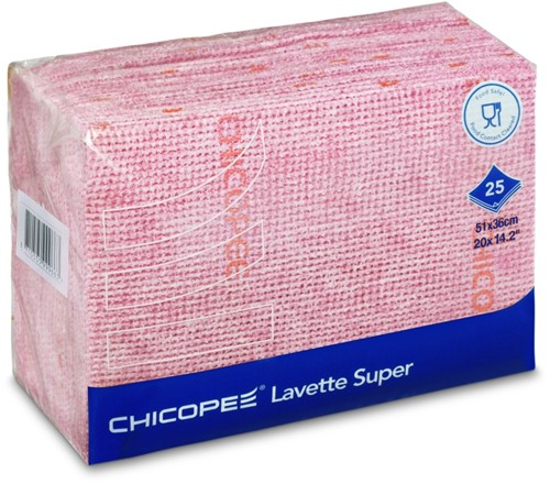 Chicopee 74468 Lavette Super, 51x36 cm, Rood