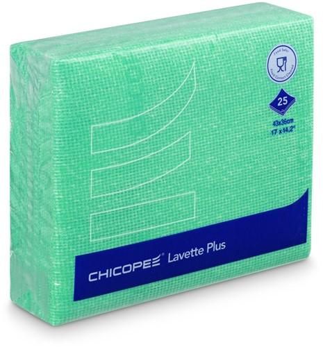 Chicopee 74537 Lavette Plus, 43x38 cm Groen