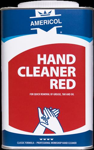 Americol Hand Cleaner Red Blik, 4 x 4,5 L