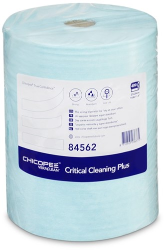 Chicopee 84562 Veraclean Critical Cleaning Plus, 37x29cm, Turquoise