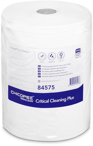 Chicopee 84575 Veraclean Critical Cleaning Plus, 37x29cm, Wit