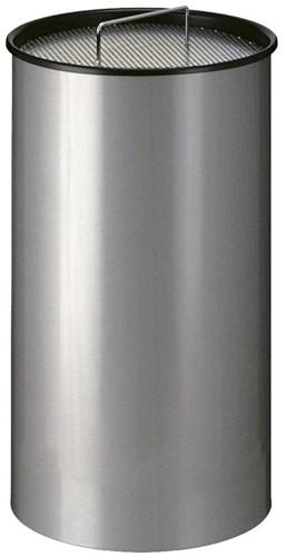Zandasbak, Aluminium Grijs