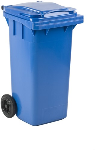 Mini-container, 120 L, Blauw