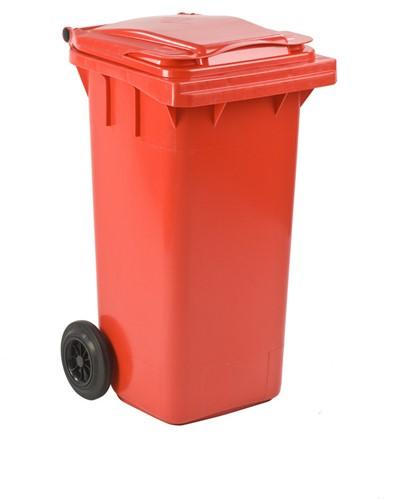 Mini-container, 120L, Rood