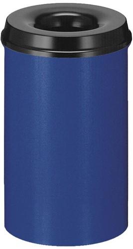 Vlamdovende papierbak, 20 L, Blauw