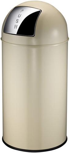 EKO Pushcan, 40 L, Crème